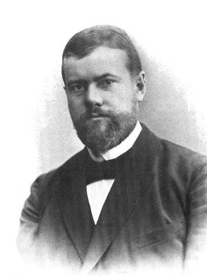 Max Weber (1864-1920), einer der Begründer der modernen, allgemeinen Soziologie