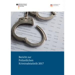 Titelbild der Polizeilichen Kriminalstatistik 2017
