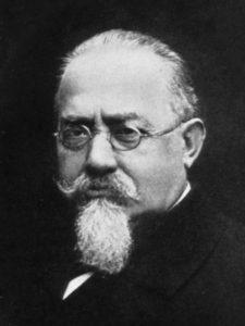 Portrait von Cesare Lombroso